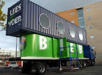 Pays-Bas - Le BiebBus : la bibliothèque ambulante