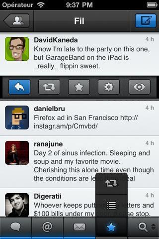 tweetbot Un coup doeil sur Tweetbot
