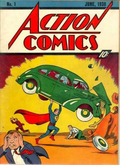 action comics 392x540 LAction Comics #1 de Nicolas Cage retrouvé