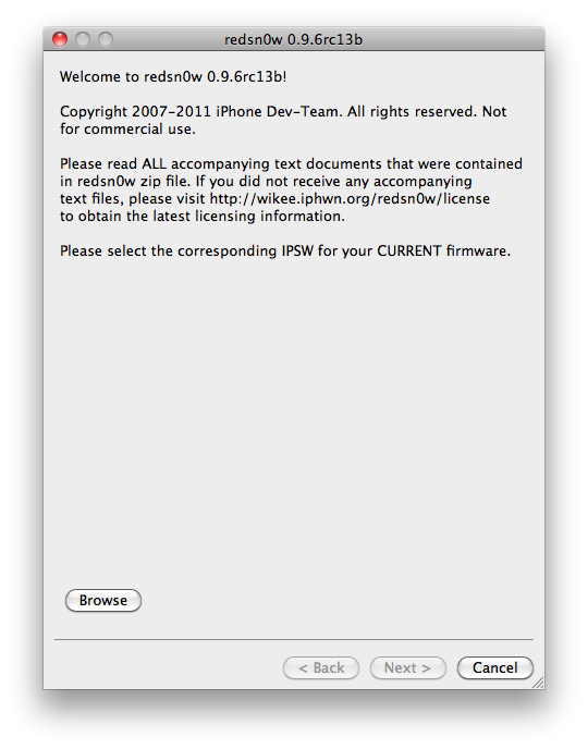 TUTO : Jailbreak iOS 4.3.2 untethered iPhone 4, 3GS, iPod Touch 4G, 3G, iPad avec Redsn0w 0.9.6RC14 Windows & Mac