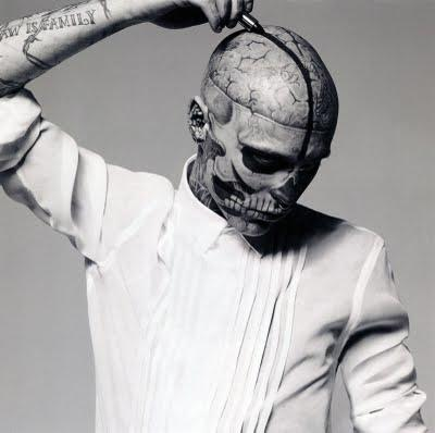 Rick Genest for GQ Style UK
