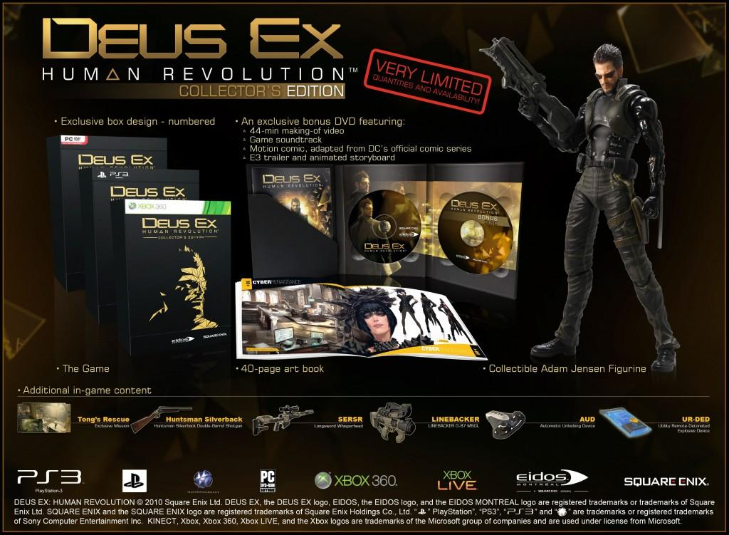 Edition collector de Deus Ex Human Revolution