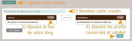 Configurer la publication automatique de ses flux sur Dlvr.it