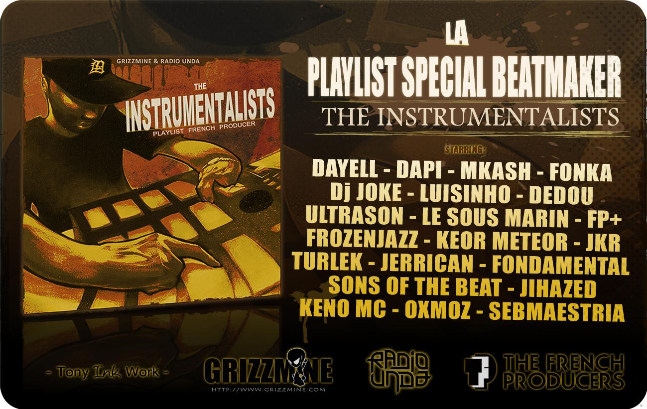 Playlist : The Instrumentalists (Spéciale Beatmakers)