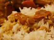 Poulet braisé curry