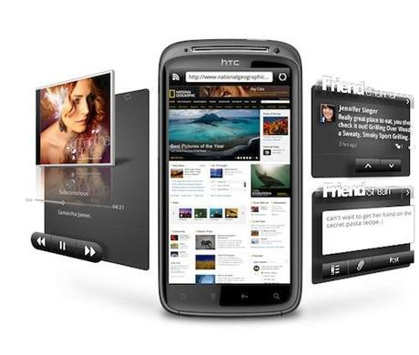 HTC joue la séduction en dévoilant son smartphone Sensation !