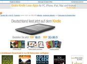 Amazon Kindle débarque Allemagne