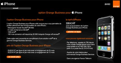 orange business iphone