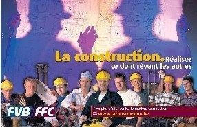 Province de Liège (Belgique) : une quinzaine consacrée au recrutement dans la construction
