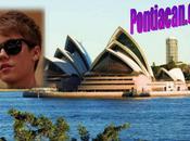 Justin Bieber Prochaine étape L'Australie