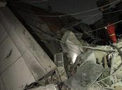 Libye l'Otan bombarde bureau Kaddafi Tripoli