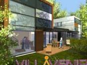 VILLAVENIR, lotissement écologique- maisons acier (3/4)