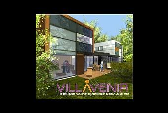 villavenir le lotissement cologique maisons acier 3 4 paperblog. Black Bedroom Furniture Sets. Home Design Ideas
