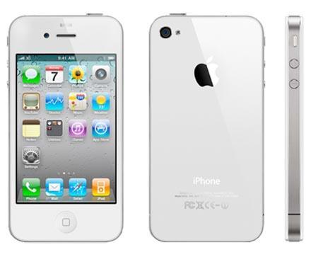 L'iPhone 4 blanc ? C'est maintenant !
