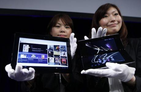 2 nouvelles tablettes Sony sous Android 3.0