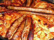 Paella Poulet Saucisses