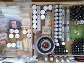 Ménage printemps dans tiroir magique ingrédients cosmétiques...