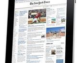 York Times abonnements souscrits trois semaines
