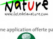 application iPhone dédiée Fête Nature