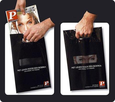 331 Top 40 des publicités sur sacs les plus originales et créatives