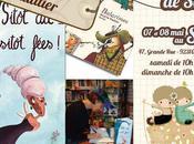 Brigitte Vaultier dédicace stand Éditions Ricochet