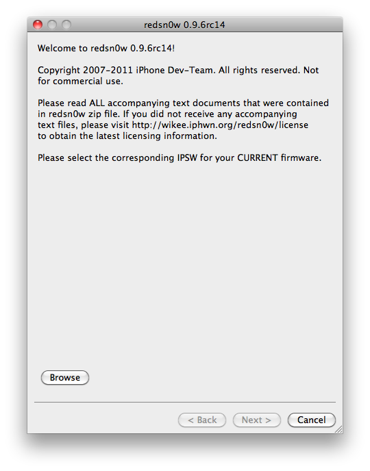 TUTO : Jailbreak tethered iOS 4.3.3 iPhone 4, 3GS, iPod Touch 4G, 3G, iPad avec Redsn0w 0.9.6RC14 Windows et Mac