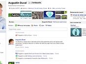 Facebook original pour Augustin