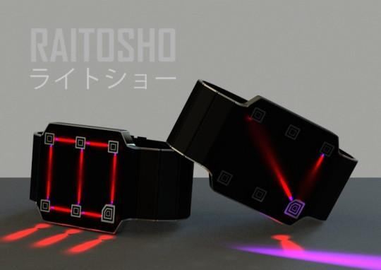 an led watch design that brings a performance to your wrist 01 540x382 Tokyoflash : Montre et performance lumineuse