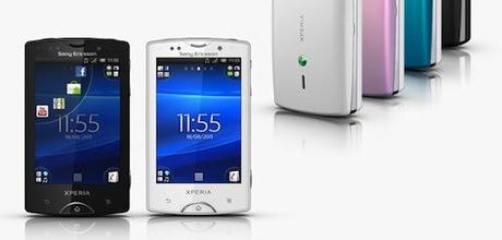 Sony Ericsson : Xperia Mini et Mini Pro disponible dès cet été
