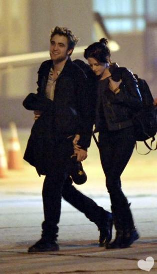 Robert Pattinson et Kristen Stewart ensemble à Toronto