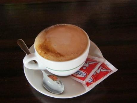 cappuccino prêt à être dégusté!