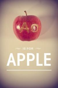 La Typographie du Fruit par Garret Steider
