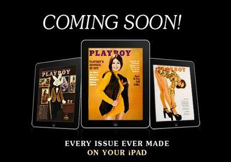 Playboy débarque sur l'iPad le 18 mai pour 8$/mois