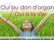 Benjamin CASTALDI soutient d'Organes