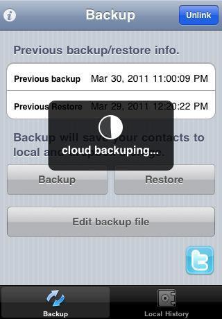 Contacts Backup Over Dropbox Des différentes façons de tirer parti de Dropbox sous iOS