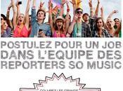 aussi, deviens reporter pour Universal Music France