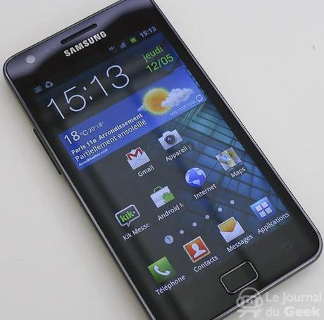 samsung galaxy s2 live 02 Test : Samsung Galaxy S2