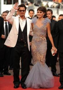 penelope cruz et johnny depp 15 mai cannes
