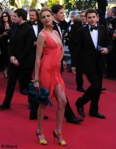 frederique bel cannes 2011 color block