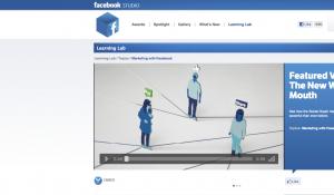Facebook : Vers une nouvelle relation avec les marketers.