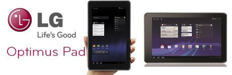 LG annonce le lancement de l'Optimus Pad au MEDPI