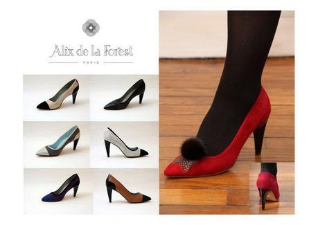 Crée les chaussures de tes rêves… avec Alix de la Forest