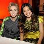 Jane Lynch,Jenna Ushkowitz