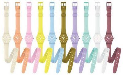 The Lady Collection by Swatch! Un été haut en couleurs !