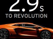 Lamborghini Aventador… spot moteur l'année