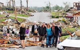 Le Missouri ravagé par les tornades