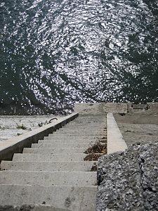 Le Rhône à Arles. Crédit Hippocampe