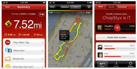 L'application iPhone Nike+ GPS gratuite ce jour