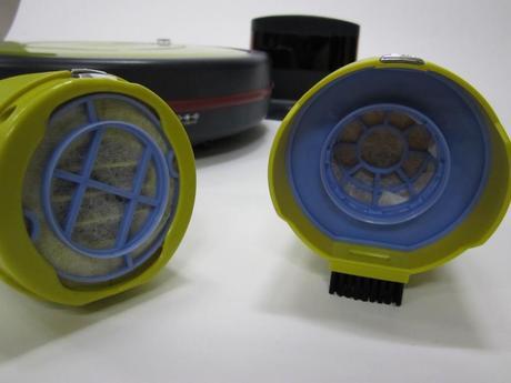 Robot aspirateur Mamirobot Sevian, plus de détails !