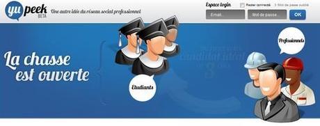 Yupeek Yupeek : le réseau social pour étudiants, entreprises et écoles